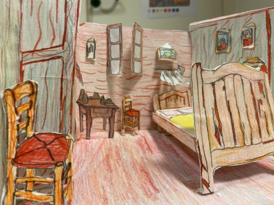 Van Gogh's room in Auvers/Oise