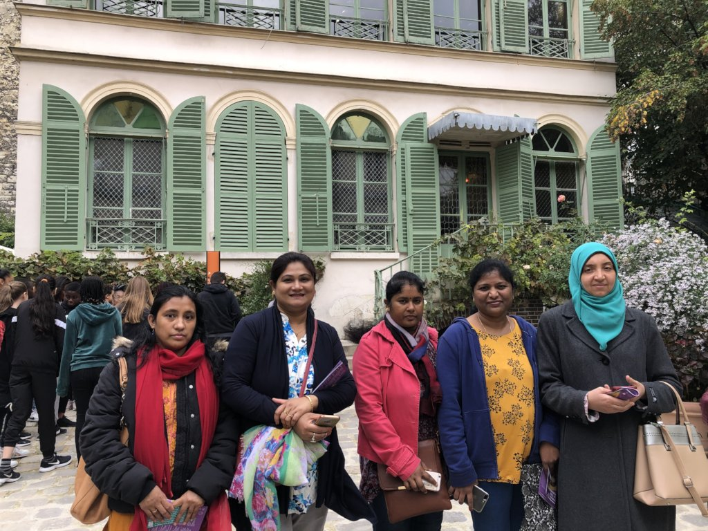 At the Museum of Romantic Life (Paris)