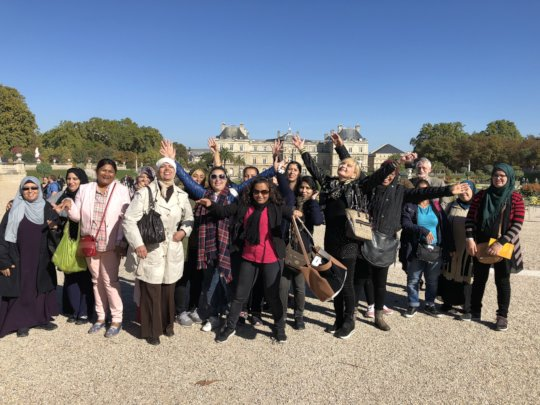 Field trip : French Institutions (Senate)