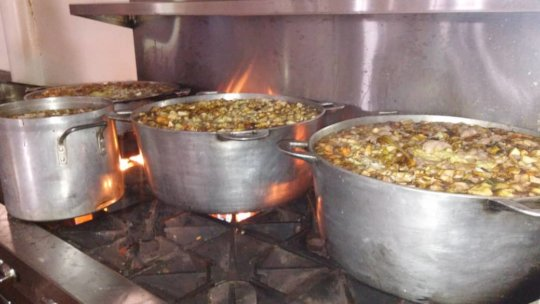 Chili Kabrit being prepared for December meals