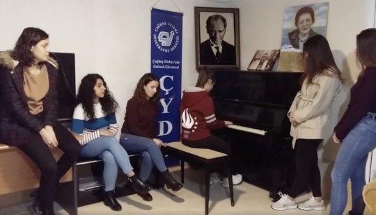 CYDD Edirne Scholars Event Photo