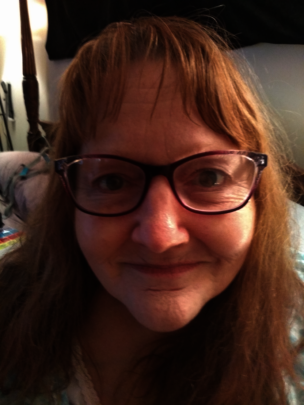 Beverly with her New Eyes' glasses