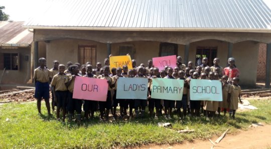 Children at Grace Orphanage