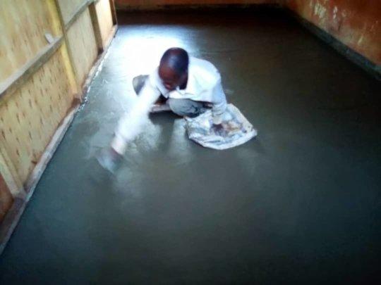 New Classroom floor