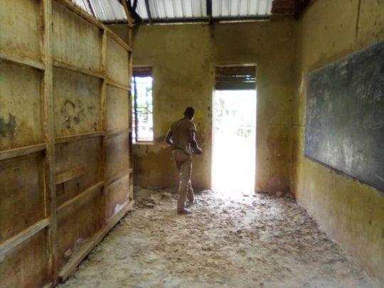 Old Classroom floor