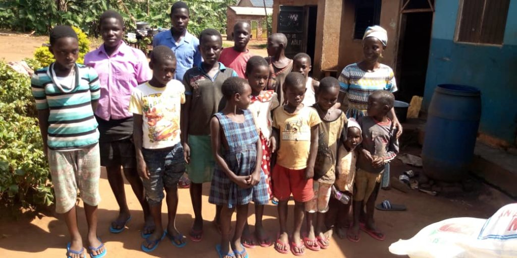Children at Grace Orphanage