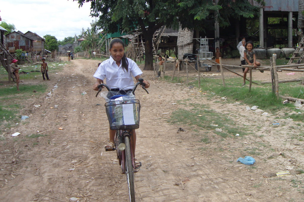The first bike in Thida