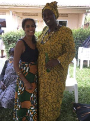 Natalie and Mwazi