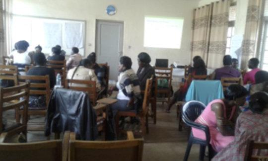 Teaching the nurses on paediatric palliative care