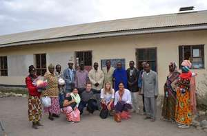 Ashley Shuyler and Losinoni Villagers and Teachers