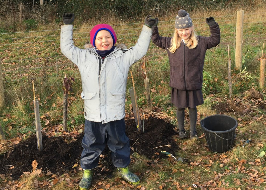 We love tree planting!