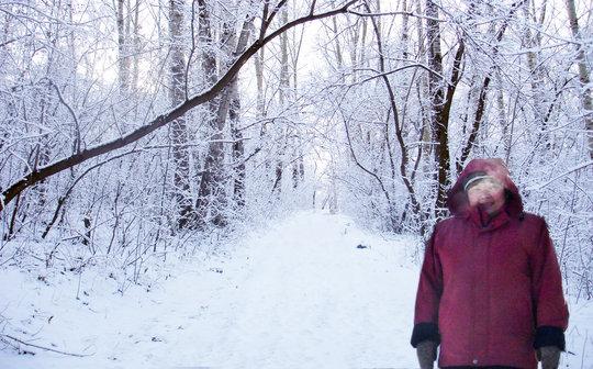 Svetlana at Ulalinsky Camp
