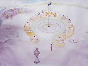 schematic of Tyungur cultural center