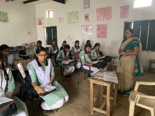 Senior Class in session