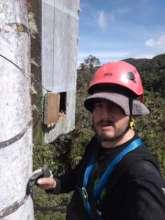 Carlos Ruiz, Yellow-eared Parrot Reserve