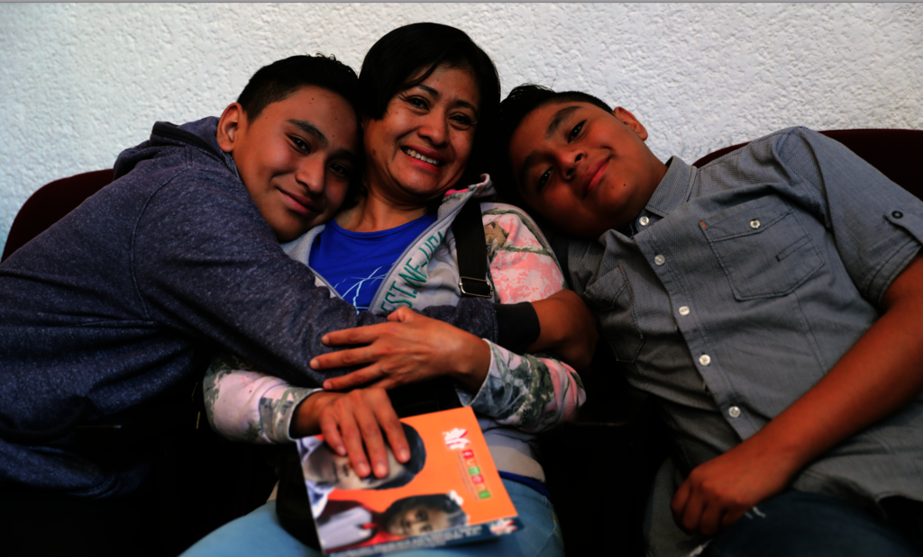 Boys and their mother