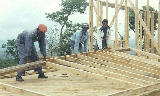 Tariro's father was a skilled carpenter