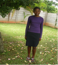 Tariro is looking forwared to Secondary School