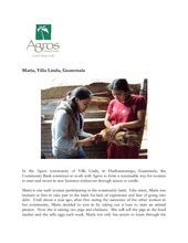 WCB Update: Story of Maria (PDF)
