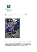 Beneficiary Update: Teresa García (PDF)