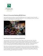 WCB Overview (PDF)