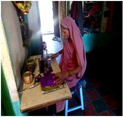 Kokila sewing