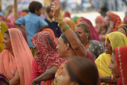 Rural women support their families and villages