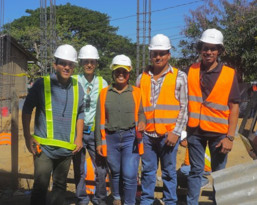 Supervisors & 2 graduates working for Contractors