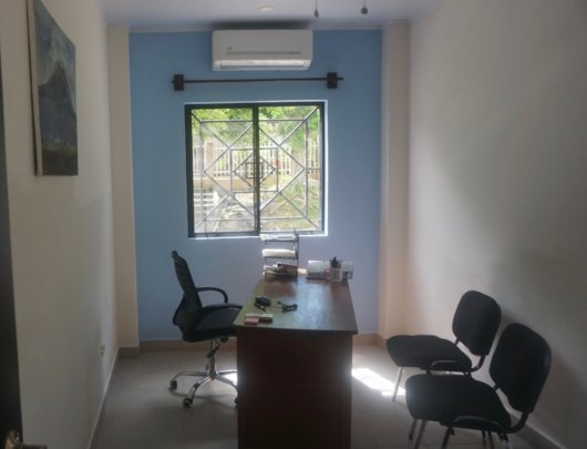 Director's office with new furniture
