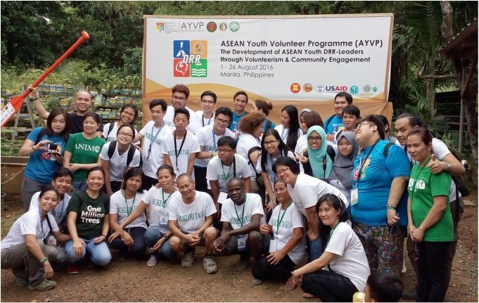 2016 ASEAN Youth Volunteer Program Participants