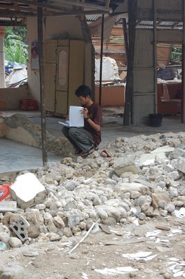 Relief for Indonesia Earthquake Survivors