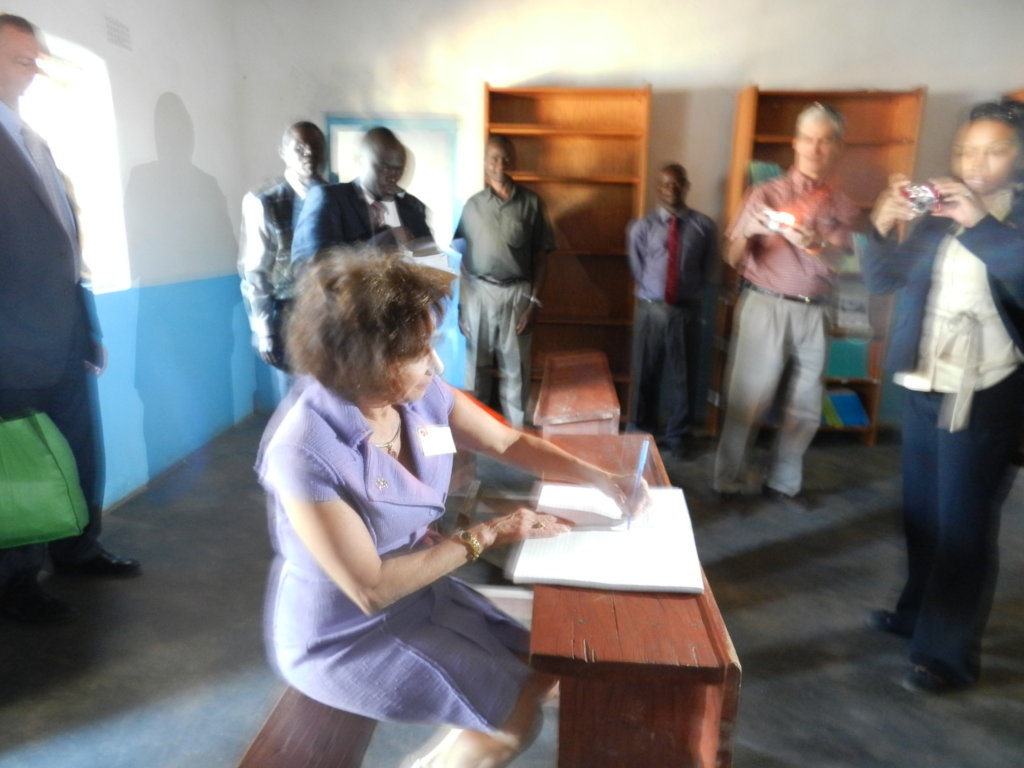 Modernising A Rural School Library in Malawi