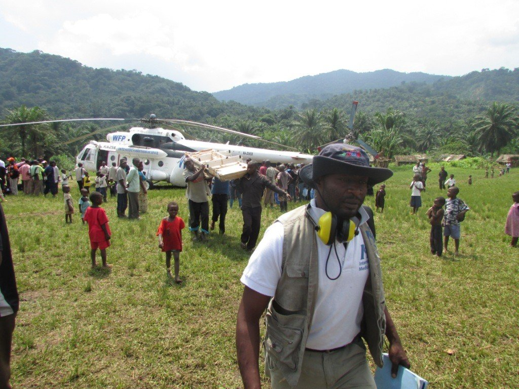 Supervision of transport from Goma to Ntoto