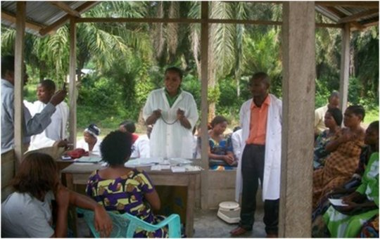 Family planning training in Walikale, DRC