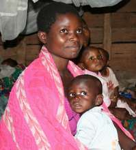 Congolese mother and child