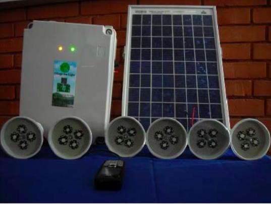 Sun Light 10 watt system