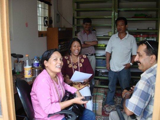 Villagers in VillageSolutions workshop
