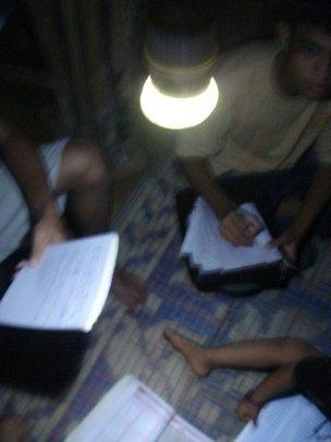 Banish darkness, light a lamp in Nepal