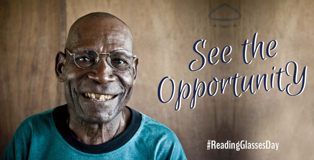 Create Access to Glasses with #ReadingGlassesDay!