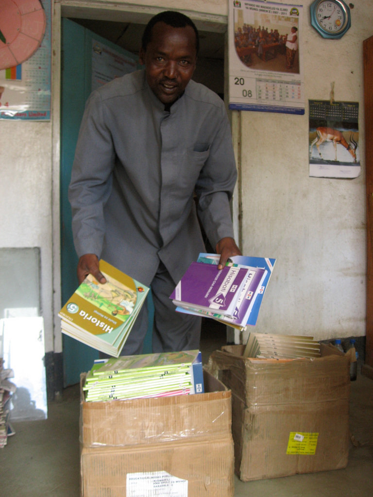 Supply Textbooks for 10 Classrooms in Tanzania