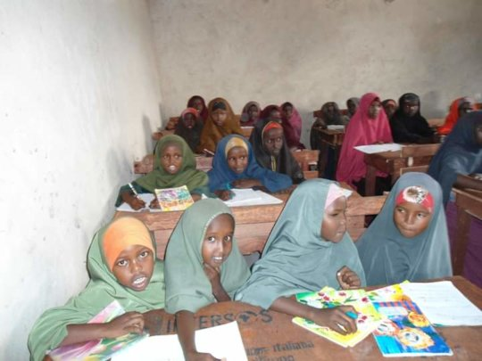 Educate Children At Yucubka Village in Hiiran