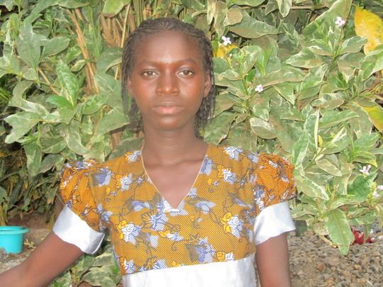 Elizabeth is staying in school - no child marriage