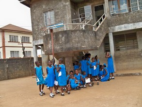 Students at FAWE school