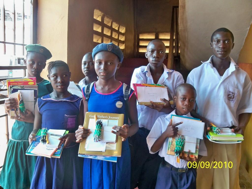 Some of Secondary School Recipients