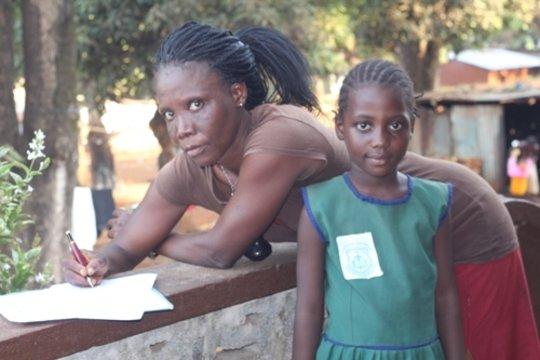 Fatmatta and mother