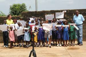 Sylvester, Phillip and some children beneficiaries
