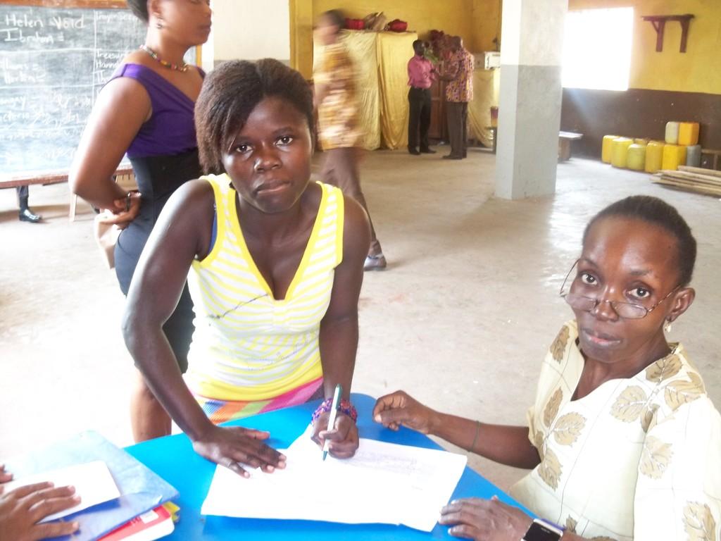 Isata receiving sponsorship grant