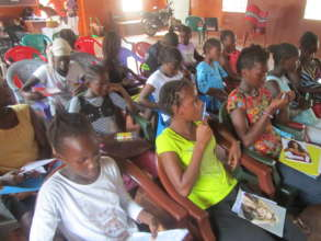 Girls Receiving Adolescent Sexual Health Training