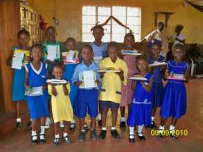 Providing Girls With School Supplies