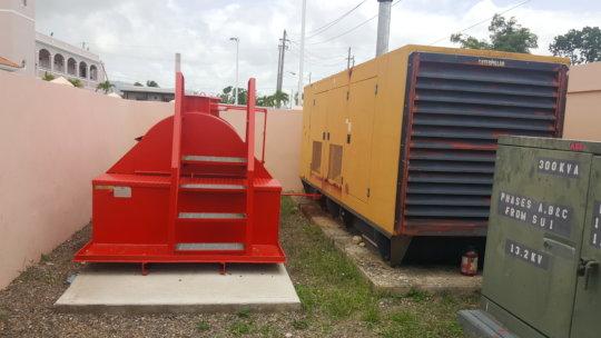 Generator and Diesel Tank
